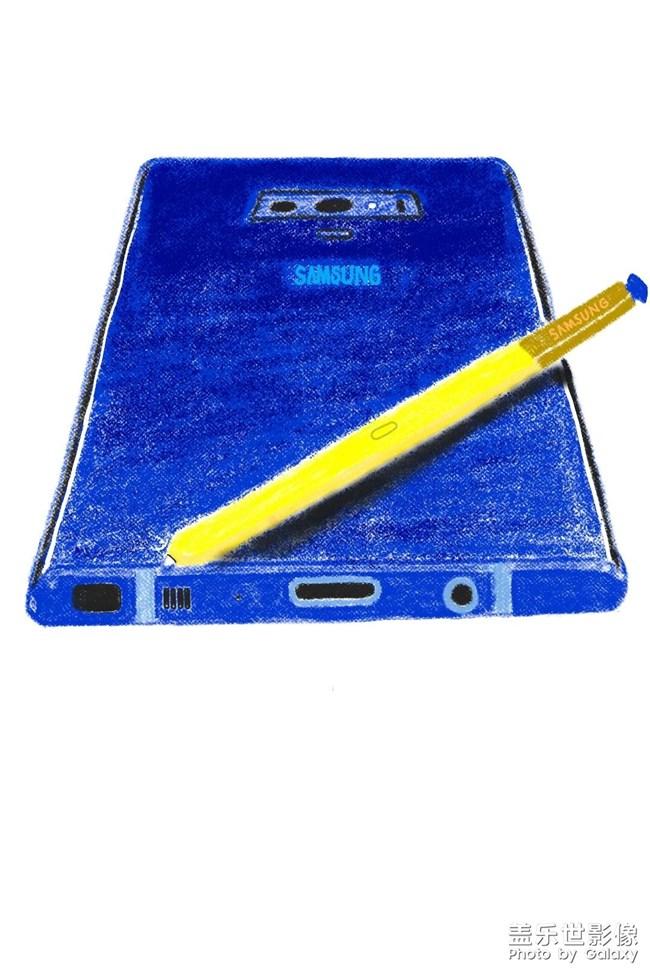 【Spen手绘】用我的手机画我的手机(Note9)