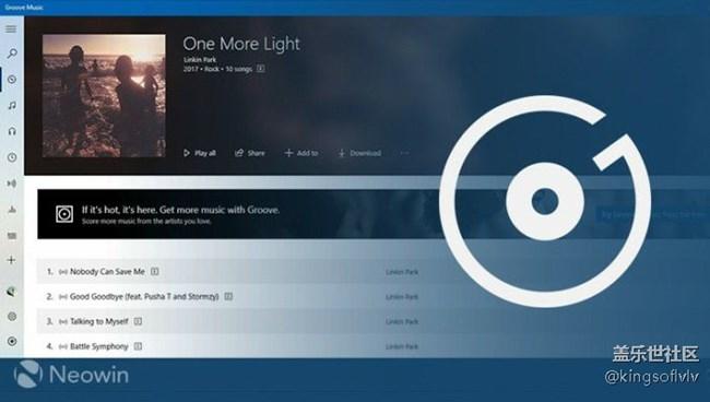林肯公园乐队发布说唱摇滚风格新专辑《one more light》